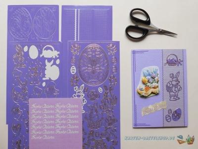 Sticker lila, violett & flieder