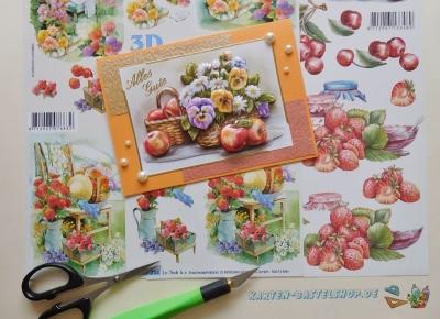 3D-Bögen Garten, Obst & Gemüse