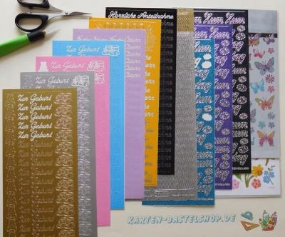 Sticker / Aufkleber nach Farbe