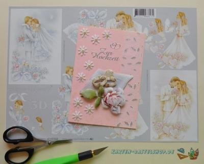 3D-Bögen Hochzeit & Liebe