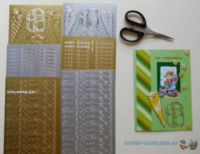 Sticker Schulanfang & Einschulung