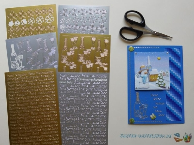 Sticker Silvester & Neujahr