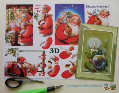 3D-Bögen Weihnachten