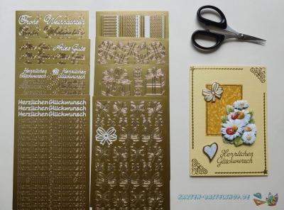 Sticker gold
