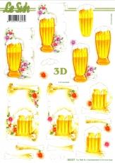 3D-Stanzbogen Bier von LeSuh (680.037)