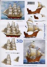 3D-Bogen Segelschiffe von LeSuh (416923)