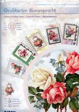 Karten-Bastelmappe - Grußkarten Blumenpracht von Reddy (89044)