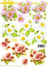 3D-Bogen Blumen im Frühjahr von LeSuh (777.332)