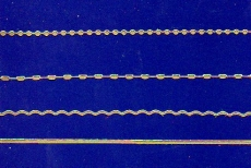 Sticker - Ränder  Linien - gold - 1016