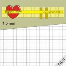 3D-Klebe-Pads - 5 x 5 mm - 1,5 mm