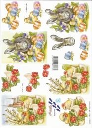 3D-Bogen Osterküken von LeSuh (8215178)
