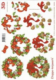 3D-Bogen Weihnachtskränze von LeSuh (4169181)