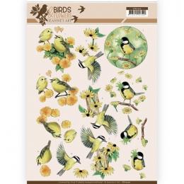 3D-Bogen - Birds & Flowers - Jeanines Art
