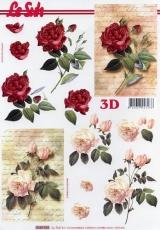 3D-Bogen Rosen von LeSuh (4169724)