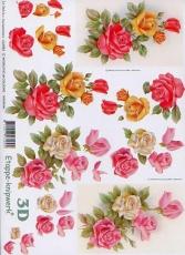3D-Bogen Rosen von LeSuh (416981)