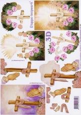 3D-Bogen Kreuz von LeSuh (4169475)