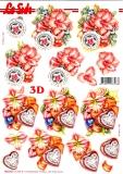 3D-Stanzbogen Weihnachtsdeko von LeSuh (680.042)