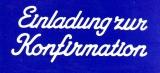 Sticker - Einladung zur Konfirmation - weiß - 498