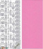 Sticker - Baby - rosa - 116