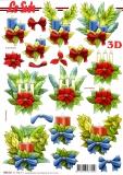 3D-Stanzbogen Weihnachtsmotive von LeSuh (680.021)