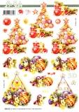 3D-Stanzbogen Weihnachtsbaum von LeSuh (680.036)