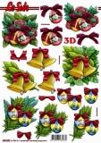 3D-Stanzbogen Weihnachtsmotive von LeSuh (680.020)