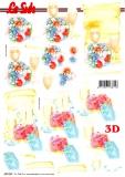 3D-Stanzbogen Sekt von LeSuh (680.040)