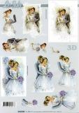 3D-Bogen Brautpaar von LeSuh (4169696)