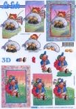 3D-Bogen Angeln & Golf von LeSuh (4169905)