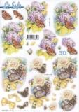3D-Stanzbogen Schmetterlinge von LeSuh (680.108)