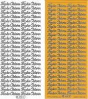 Sticker - Frohe Ostern - gelb - 480