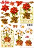 3D-Stanzbogen Weihnachtsstern von LeSuh (680.052)