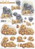 3D-Stanzbogen Hündchen von LeSuh (680.109)