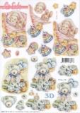 3D-Stanzbogen Baby von LeSuh (680.112)