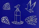 Sticker - Maritim - silber - 819