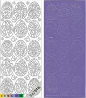 Sticker - Ostern 3 - violett - 898