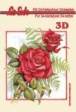 3D-Minibüchlein  Rosen 1von LeSuh (333002)