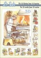 3D-Buch A5 Berufe von LeSuh (345611)
