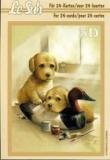 3D-Minibüchlein Katze und Hund von LeSuh (333011)