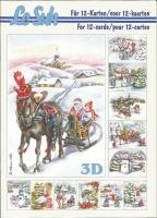 3D-Buch A5 Weihnachten von LeSuh (345620)