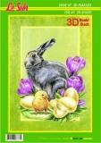3D-Buch A4 Ostern von LeSuh (320007)