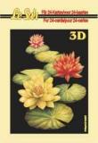 3D-Minibüchlein Blumen 1 von LeSuh (333004)