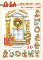 3D-Buch A5 Weihnachten von LeSuh (345621)