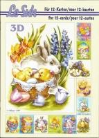 3D-Buch A5 Ostern von LeSuh (345626)
