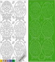 Sticker - Ostern 4 - grün - 899