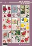 3D-Buch A4  Kleine Motive von LeSuh (320006)