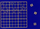 Sticker - Sudoku - gold - 1218