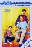 3D-Minibüchlein Teenager von LeSuh (333016)