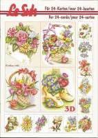 3D-Buch A5 Mini-Blumen von LeSuh (345615)