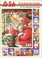 3D-Buch A5 Weihnachtsmann von LeSuh (345607)